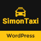 SimonTaxi - Taxi Booking WordPress Theme - ThemeForest Item for Sale