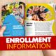 Kindergarten Enrollment Brochure - GraphicRiver Item for Sale