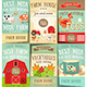 Farm Food and Agriculture Posters Set - GraphicRiver Item for Sale