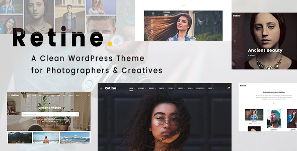 Retine - A WordPress Theme for Photographers and Creatives