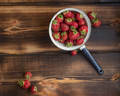 Strawberry in a colander  - PhotoDune Item for Sale