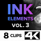 4K Ink Elements [vol.3] - VideoHive Item for Sale