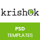 Krishok - Organic Food, Fruit and Vegetables Products PSD Template - ThemeForest Item for Sale