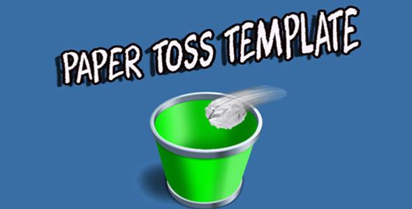 Paper Toss 3D capx