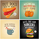 Coffee, Fast Food, Ice Cream Posters - GraphicRiver Item for Sale