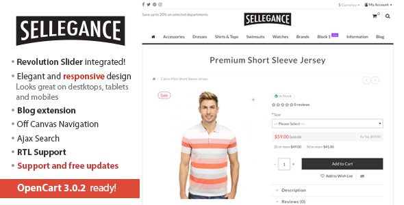 Sellegance - Responsive and Clean OpenCart Theme, free download Sellegance - Responsive and Clean OpenCart Theme, coupon Sellegance - Responsive and Clean OpenCart Theme, review Sellegance - Responsive and Clean OpenCart Theme, nulled Sellegance - Responsive and Clean OpenCart Theme