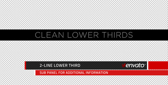 Lower Third Video Effects & Stock Videos from VideoHive