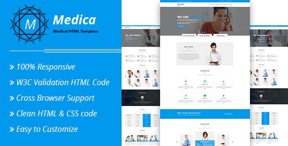 Medica - Medical HTML Template