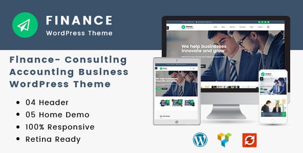 Finance - Consulting, Accounting WordPress Theme