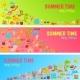 Summer Time Banner - GraphicRiver Item for Sale