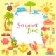 Summer Time Frame - GraphicRiver Item for Sale