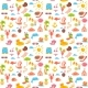 Elements for Seaside Vacation. Semless Pattern - GraphicRiver Item for Sale
