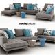 Sofa Symbole composition Roche Bobois - 3DOcean Item for Sale