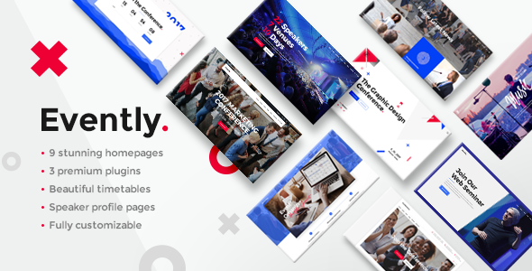 Evently - Event & Conference Theme