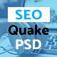SEO quake – SEO & Digital Marketing Agency - PSD Template - ThemeForest Item for Sale