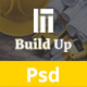 Build Up Real Estate & Construction PSD Template - ThemeForest Item for Sale