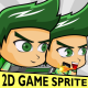 Rick - Boy 2D Game Character Sprite - GraphicRiver Item for Sale