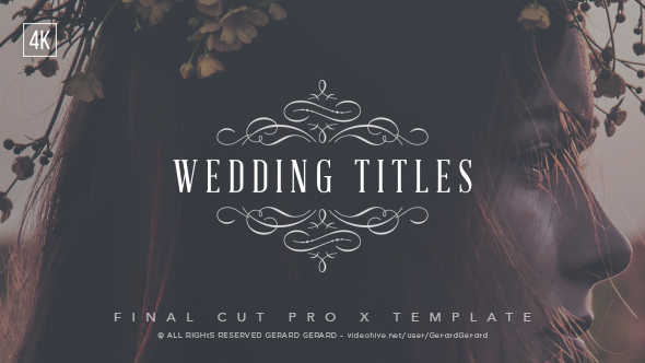 Videohive | Wedding Titles - FCPX Free Download free download Videohive | Wedding Titles - FCPX Free Download nulled Videohive | Wedding Titles - FCPX Free Download