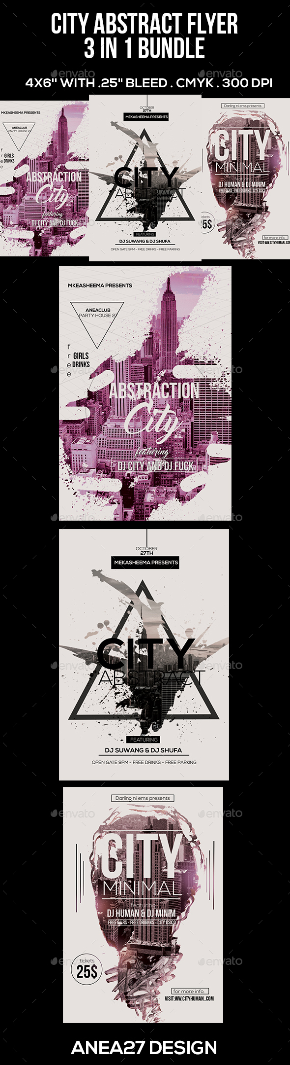 City Abstract Graphics, Designs & Templates from GraphicRiver