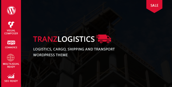 Tranzlogistics - Logistics & Cargo Shipping WordPress Theme