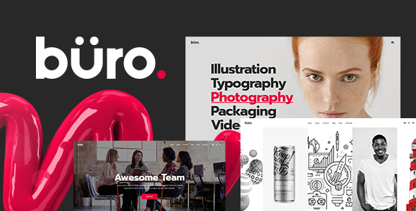 Büro - Creative Agency and Freelancer Theme