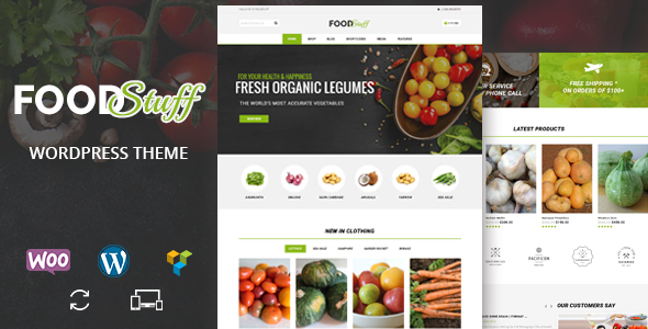 Food Stuff – Multipurpose WooCommerce Theme Free Download