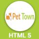 PetTown - Blog & Shop Responsive HTML5 Template - ThemeForest Item for Sale