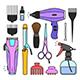 Barber Shop Tools - GraphicRiver Item for Sale