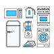 Home Appliance Icons - GraphicRiver Item for Sale