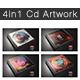 Cd Artwork Template Bundle - GraphicRiver Item for Sale