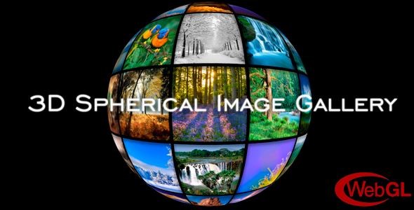 3D Spherical Image Gallery | WordPress Plugin