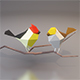 Low Poly Birds - 3DOcean Item for Sale