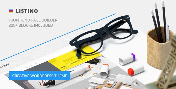 Listino - Creative Agency WordPress Theme