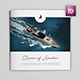 Yacht Trifold Square Brochure - GraphicRiver Item for Sale