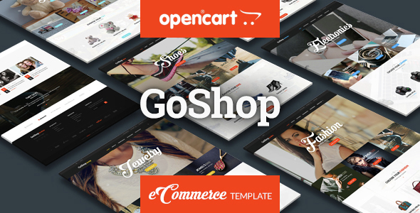 GoShop - Premium OpenCart 3 & 2 Theme