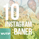 10 Instagram Post Banner - Charity 02 - GraphicRiver Item for Sale