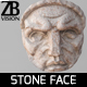 Stone face 001 - 3DOcean Item for Sale