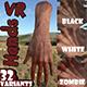 VR Hands I 32 VariationsI  I PBR I I Optimized I Low I - 3DOcean Item for Sale