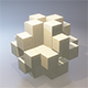 Wooden Toy Puzzle - 3DOcean Item for Sale