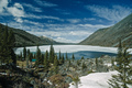 Multinskoe lake with snow. Altai mountains - PhotoDune Item for Sale