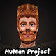 HuMan 3D Project I Animated I Male - 3DOcean Item for Sale