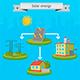 Solar Energy Panel Scheme - GraphicRiver Item for Sale