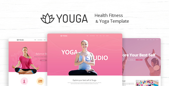 Youga - Yoga Studio PSD Template
