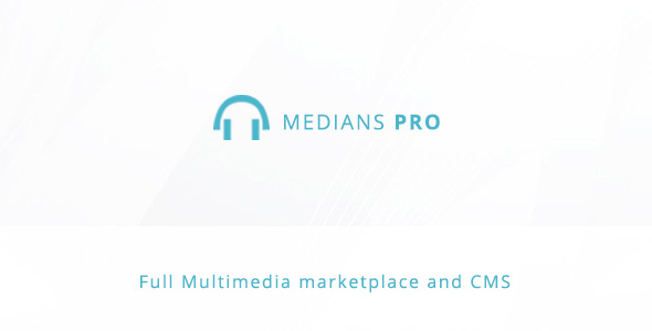 Medians PRO - Multimedia marketplace and  CMS