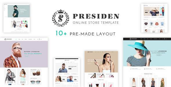 Presiden - Clothing and Fashion Shopify Theme