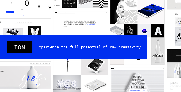 Ion - Creative Portfolio Theme