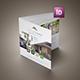 Real Estate Square Trifold Brochure - GraphicRiver Item for Sale