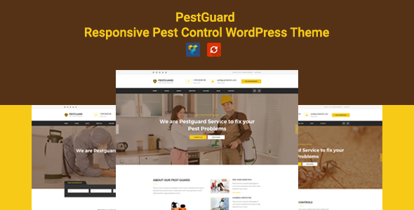 PestGuard - Responsive Pestcontrol WordPress Theme
