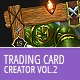 Trading Card Game - Creator - vol.2 - GraphicRiver Item for Sale