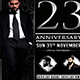23 Anniversary-Flyer Template - GraphicRiver Item for Sale